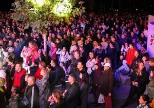 Праздничное 3D-шоу посмотрели около 5 тыс человек