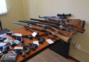 Жители Дипропетровщины массово добровольно разоружаются