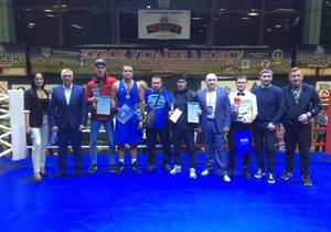 Боксеры Днепропетровщины вернулись с Кубка Украины с тремя медалями