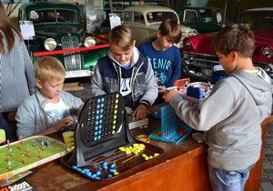 В музее «Машины времени» открылась выставка настольных игр