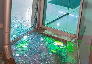 В Днепре ночью ограбили магазин Comfy