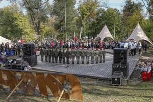 В Днепре открыли новый сезон Всеукраинской детско-юношеской военно-патриотической игры «Сокол» («Джура»)