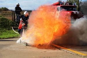 Приборкувачі вогню: команда Придніпровської ТЕС виборола першість серед пожежних  підрозділів ДТЕК Енерго