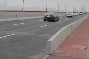 После капитального ремонта Центральный мост в Днепре стал безопаснее