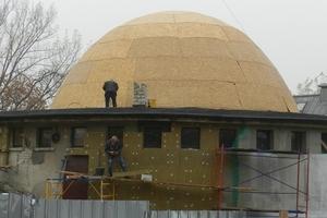 Как в Днепре проходит капитальный ремонт планетария