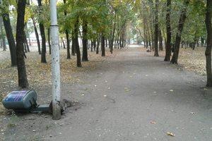 Департамент парков и рекреации Днепра обратился в полицию по поводу вандализма в парках города