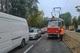 В Днепре на Богдана Хмельницкого трамвай сошел с рельсов: собралась пробка