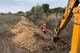 На строительной площадке аэропорта Днепра нашли снаряд Второй Мировой войны