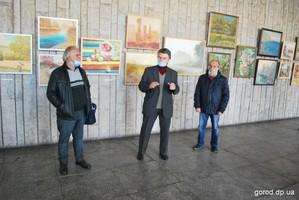 В Днепре открылась выставка «Січеславський пленер»