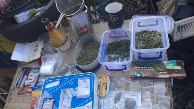 Милиция ужителя Запорожья изъяла партию запрещенных наркотиков ипистолет