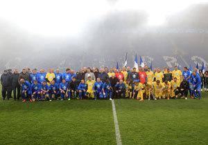 Как отметили 100-летие футбольного клуба «Днепр»