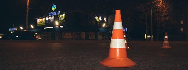В Днепре на проспекте Ивана Мазепы автомобиль Toyota сбил мужчину