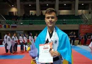 Днепрянин Михаил Княжев стал бронзовым призером чемпионата мира по тхэквондо