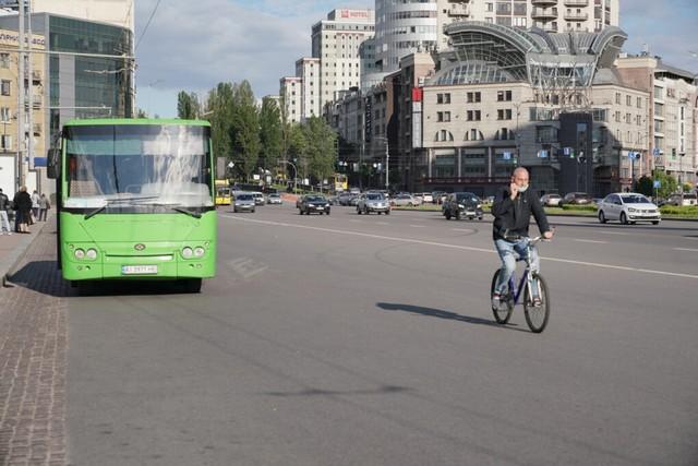 Теперь официально: велосипедистам разрешили ездить по полосе общественного  транспорта | Городской сайт Днепра