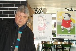 Карикатурист Александр Дубовский: «Желаю начинать и заканчивать день с улыбкой!»