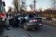 В Кривом Роге столкнулись Volkswagen и автобус «Ikarus»: людей вырезали из покореженного автомобиля