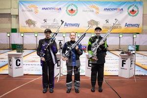 Днепровские спортсменки стали призерами международных соревнований по стрельбе из пневматического оружия