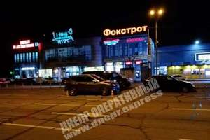 В Днепре на Набережной Победы произошло ДТП с участием трех автомобилей
