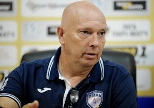 Главного тренера «Стали» Якоба Галла могут отправить в отставку