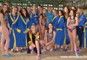 Днепровские спортсменки стали чемпионами Украины по водному поло