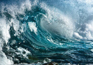 Днепровского путешественника «атаковала» огромная волна