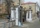 В парке Глобы восстанавливают ворота на ул.Фабра
