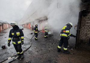 В Днепре в гараже взорвался автомобиль