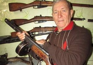 Житель Днепропетровщины собрал уникальную коллекцию оружия времен Второй мировой войны