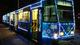 В Днепре запустили Новогодний трамвай