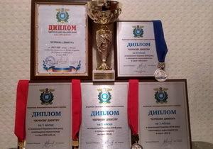 Достижения мотокроссмена из Каменского отметили пятью дипломами Федерации мотоциклетного спорта Украины