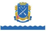 Флаг города Днепр (Днепропетровск), утвержден 5.12.2012