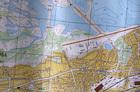 Начало ст-ва Красного Камня. Карта 1975 г.