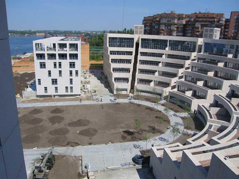 Амфитеатр - жилой комплекс