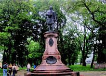 Что посмотреть - Ломоносову М.В., памятник