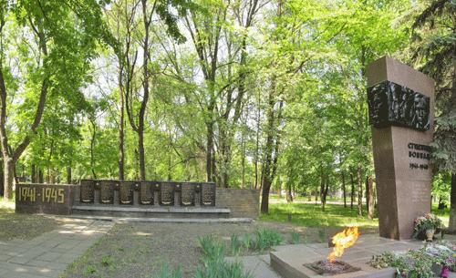 Что посмотреть - Студентам и преподавателям института железнодорожного транспорта, погибшим в годы Великой Отечественной войны памятник