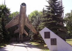 Что посмотреть - Истребительному авиационному полку ПВО памятник