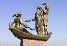 Что посмотреть - Юность Днепра, скульптура