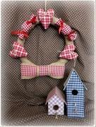Авторские декорации интерьера, текстильные игрушки
