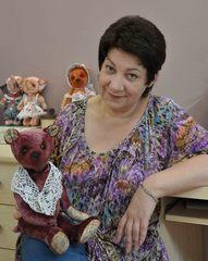 Gorod мастеров - Авторские мишки Тедди от Яблонской Ирины