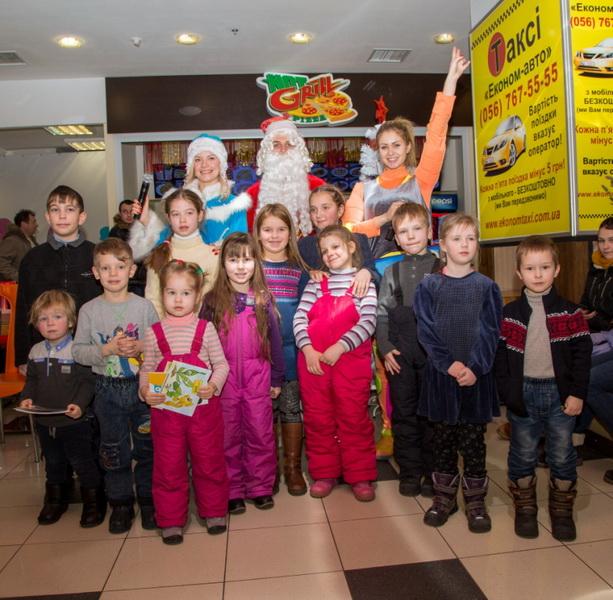 Детские новогодние праздники в ТРЦ Дафи (3.01.2015 - 9.01.2015)