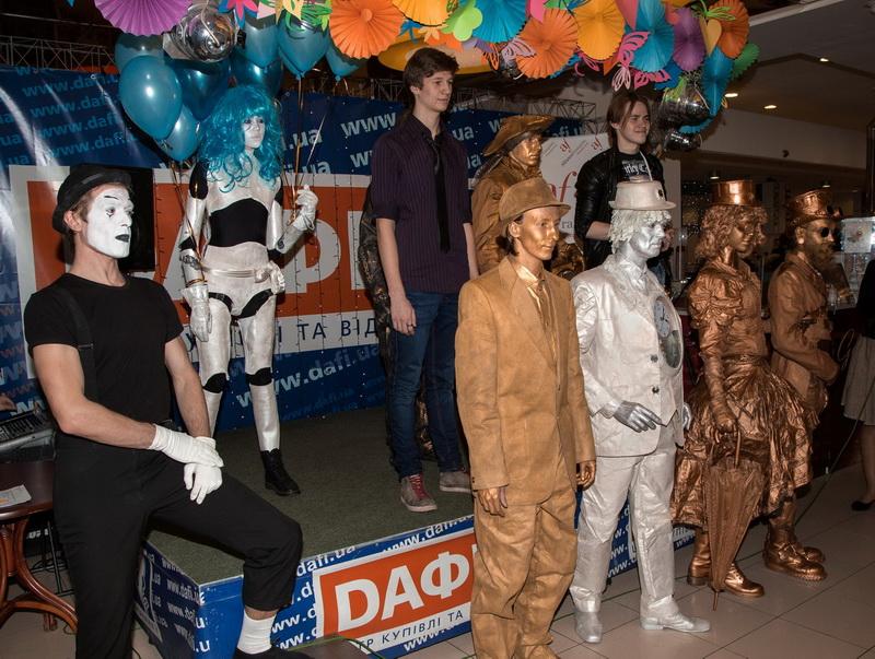 Открытие Фестиваля уличного искусства в ТРЦ Дафи
