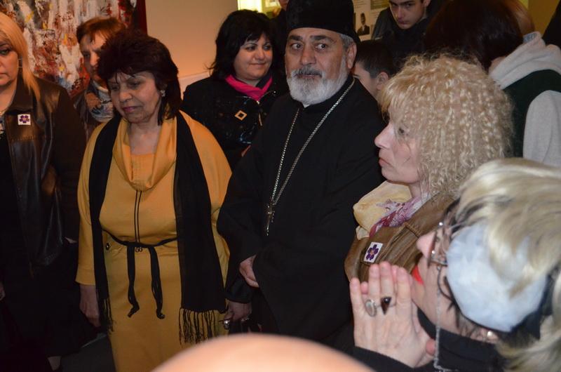Открытие экспозиции «100-летие Геноцида армян в контексте истории Холокоста и других трагедий ХХ века»