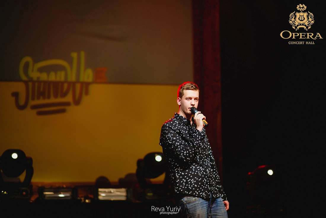 Концерт STAND UP l DNEPR CITY (13.11.2015, OPERA Club)