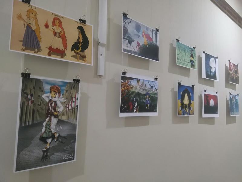 Мистецтво Аніме у Новій бібліотеці
