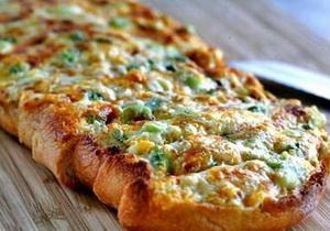 Как приготовить пиццу на хлебе за 5 минут
