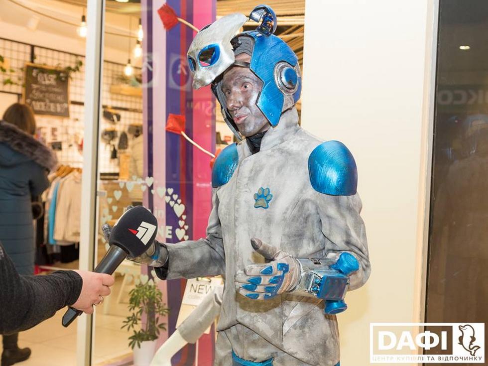 Открытие IV Всеукраинского фестиваля уличного искусства