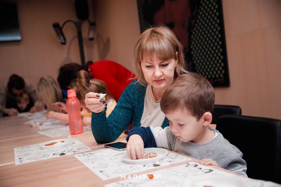 Детский мастер-класс в MADISON 9 декабря
