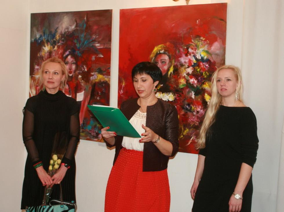 Презентації художньої виставки «Живописна примха»