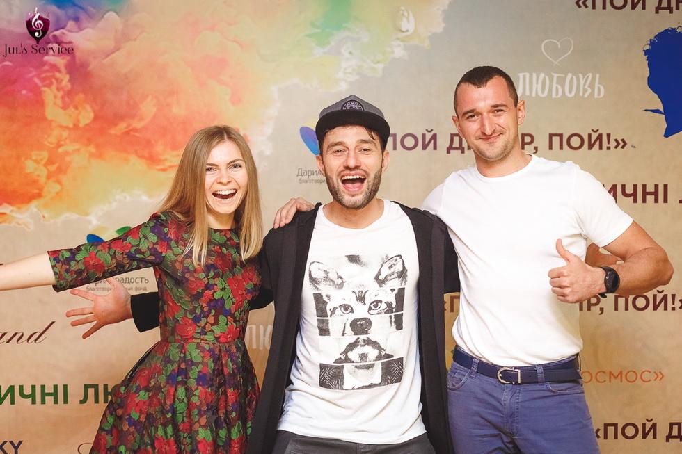 Благотворительный концерт Дениса Borisoffsky