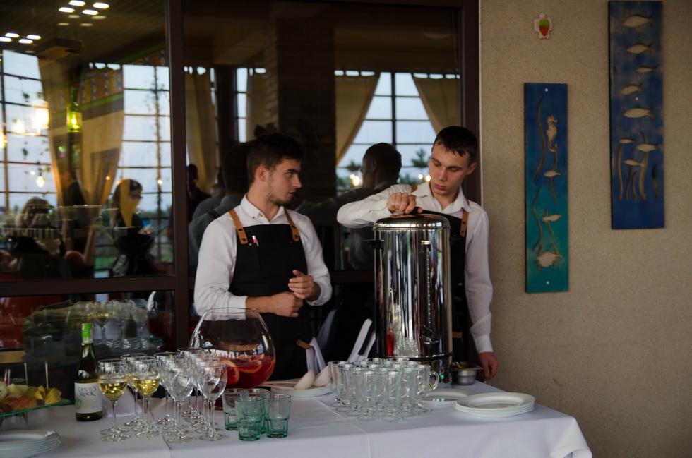 13 Шефов в Ostrov River Club